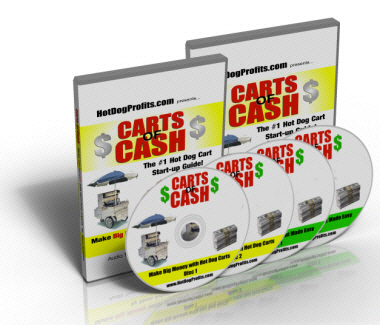 Carts of Cash book on audio CDs