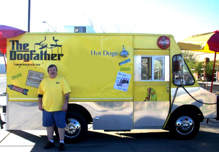 dogfather hot dog truck