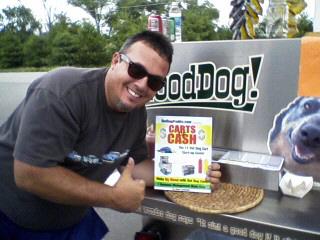 Good Dog Hot Dog Cart