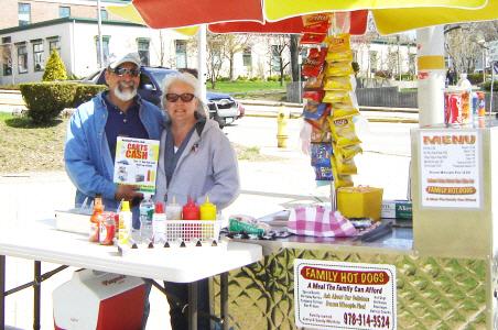 Jerry's hotdog cart