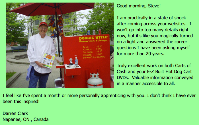 hot dog biz 101 testimonial