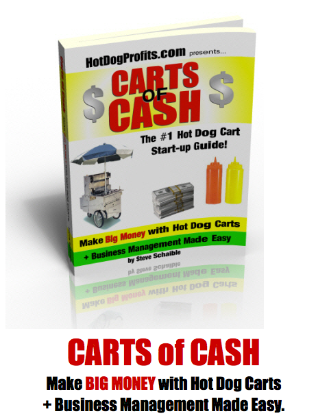 Carts of Cash - #1 Hot Dog Cart Business Book