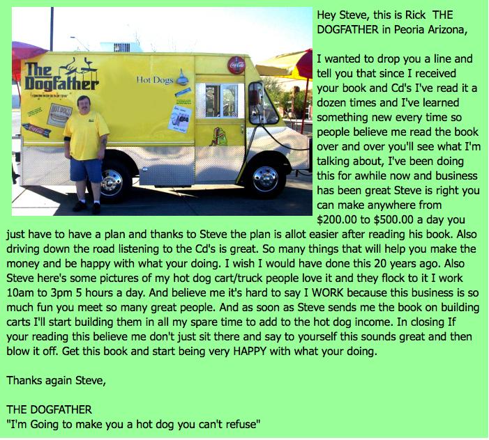hot dog biz 101 testimonial